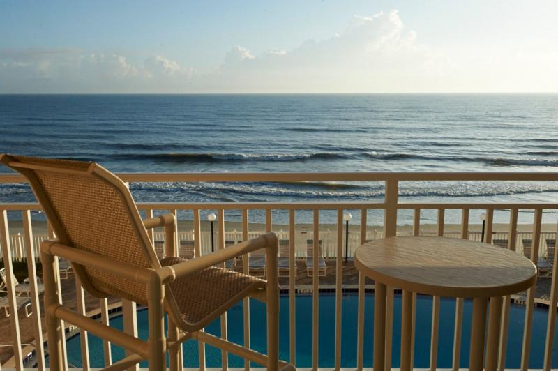 Private, Direct Oceanfront Patio - Direct Oceanfront, Large Balcony, Newly Renovated - Satellite Beach - rentals