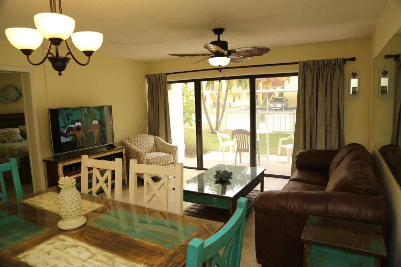 Right on the Ocean - Ground Floor - Next to Pier - Image 1 - Cocoa Beach - rentals