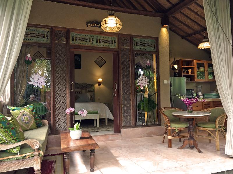 Lotus Cottage - Devi's Place Ubud - peace & quiet at Lotus Cottage - Ubud - rentals