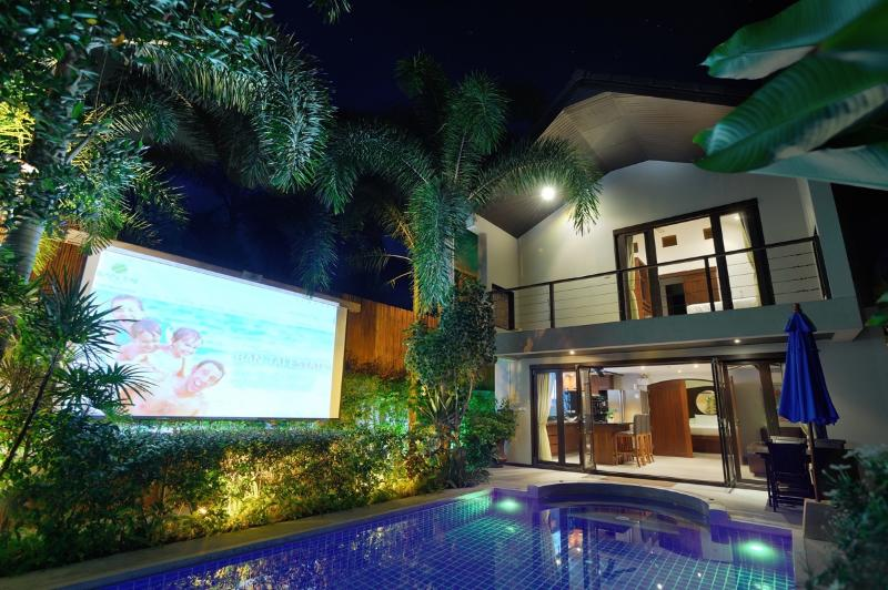 Private pool and projector screen - Beachside Luxury Villa Tawan - Mae Nam - rentals