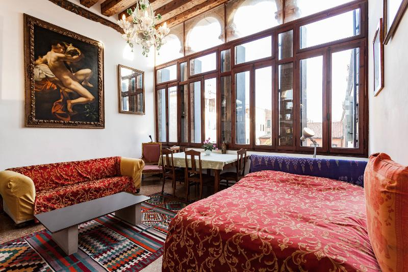 Living Room - Venetian Palazzo - Venice - rentals