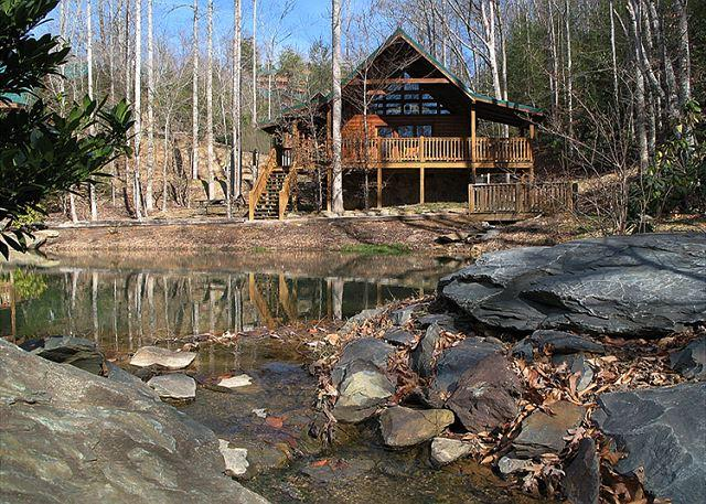 Beautiful, bucolic Beyond the Pond - Beyond the Pond   Pool Access  Hot Tub  Pool Table  WiFi   Free Nights - Gatlinburg - rentals