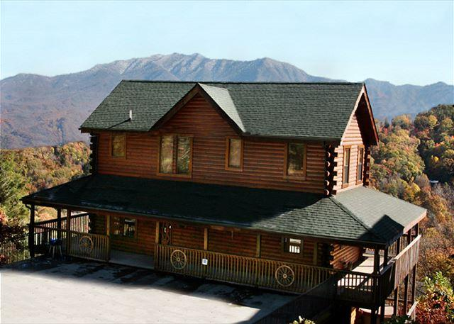 On a high note - Starry Nights Lodge   Views Near Ober Hot Tub Gaming Pets  Free Nights - Gatlinburg - rentals