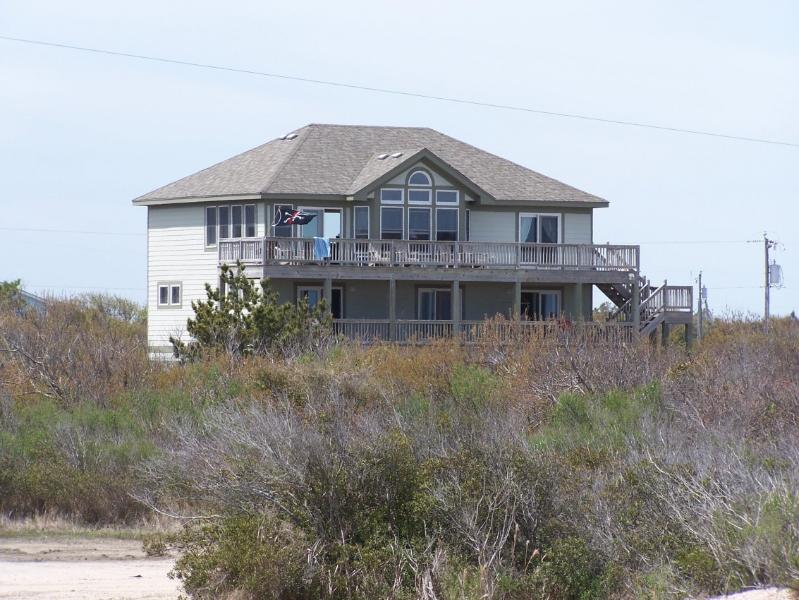 Ocean side view - Secluded beach house located in the 4 Wheel Drive - Carova Beach - rentals