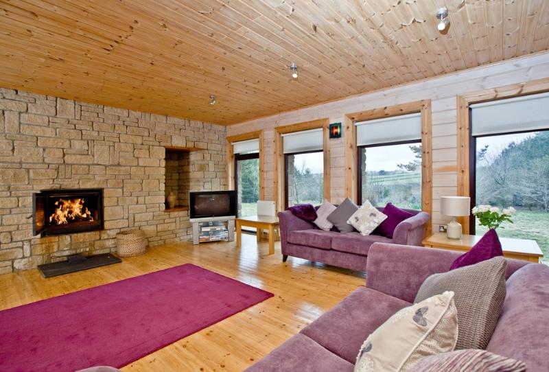 Oak Lodge, Forest Lakes located in Bideford, Devon - Image 1 - Bideford - rentals