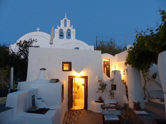 The house of the singing birds front view - House of the singing birds - Oia - rentals