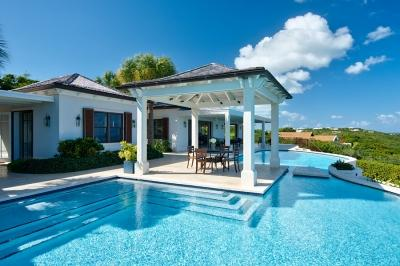 Stunning 4 Bedroom Ocean View Villa with Pool in Providenciales - Image 1 - Providenciales - rentals