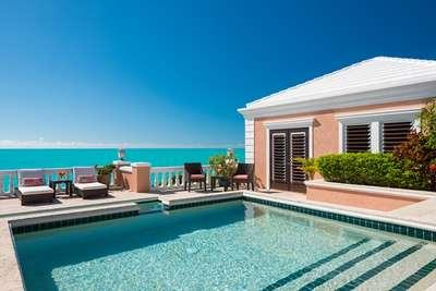 Dazzling 5 Bedroom Oceanfront Villa with Pool on Turtle Tail - Image 1 - Leeward - rentals