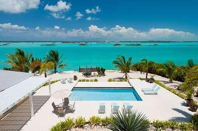 Gorgeous 4 Bedroom Beachfront Villa with Pool on Chalk Sound - Image 1 - Chalk Sound - rentals