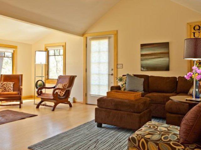 Living Room - Designer's Dog Friendly Home on Sheep Pond - BR0353 - Brewster - rentals