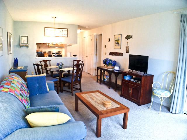 Living area - Ocean Edge - Street Level with 1 A/C & WiFi - FL0617 - Brewster - rentals