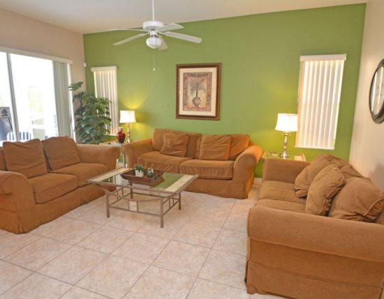 5 Bedroom Pool Home In Tuscan Hills. 731BD - Image 1 - Orlando - rentals