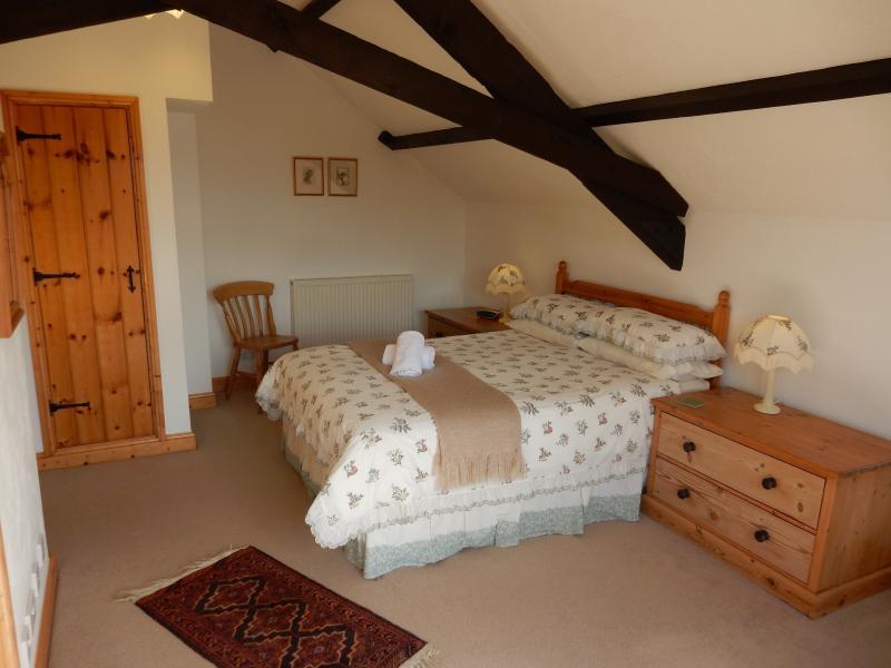 Honeysuckle's spacious bedroom - Honeysuckle Cottage, Ocean Views in North Devon - Bideford - rentals