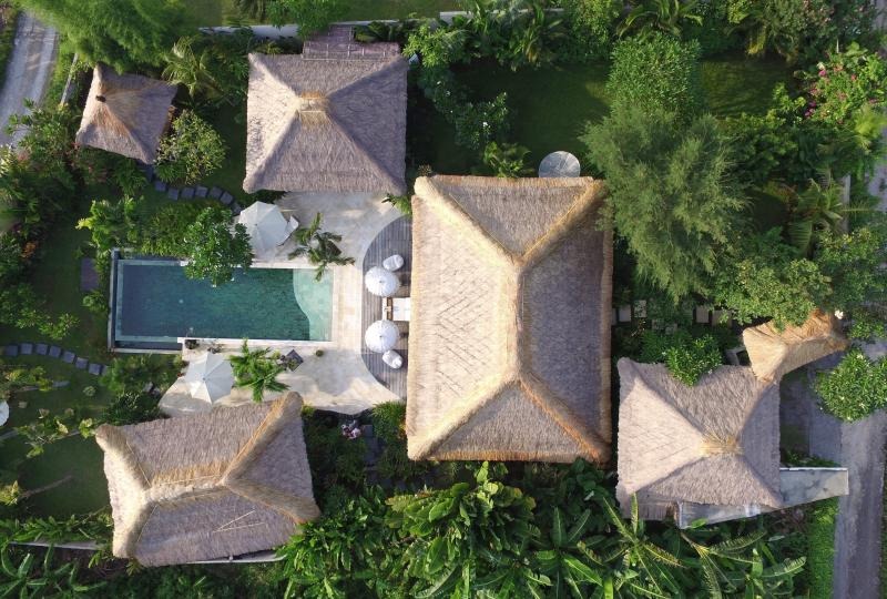 Aerial view of the property - Villa Tibu Indah, Canggu - Bali - Canggu - rentals