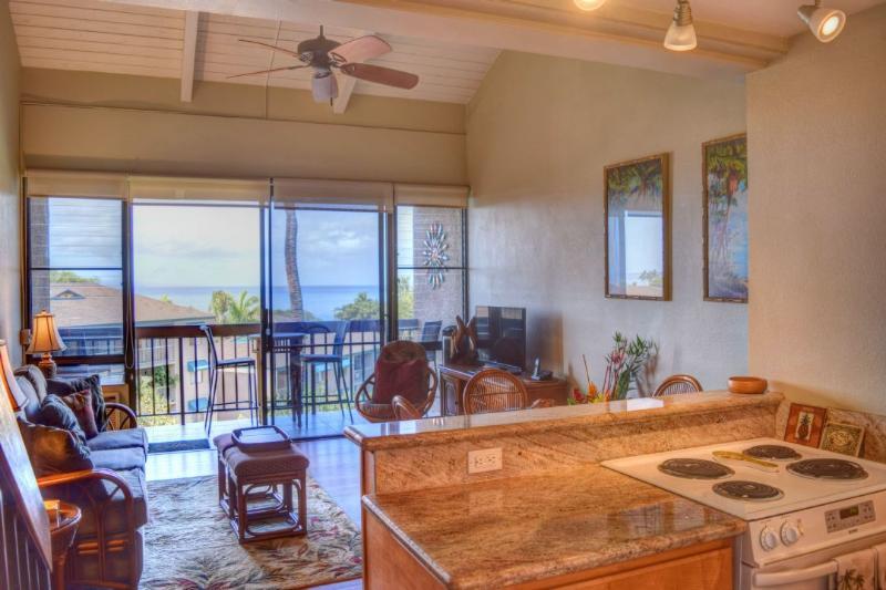 Ocean views from this property - Maui Vista 2406 W61149166-01 - Kihei - rentals
