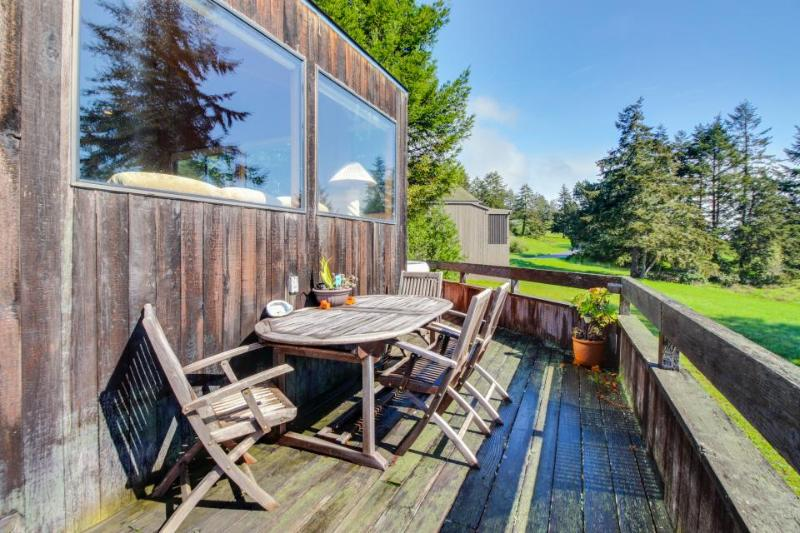 Hillside ocean-view home, w/private hot tub & shared pool. Dog-friendly - Image 1 - Sea Ranch - rentals