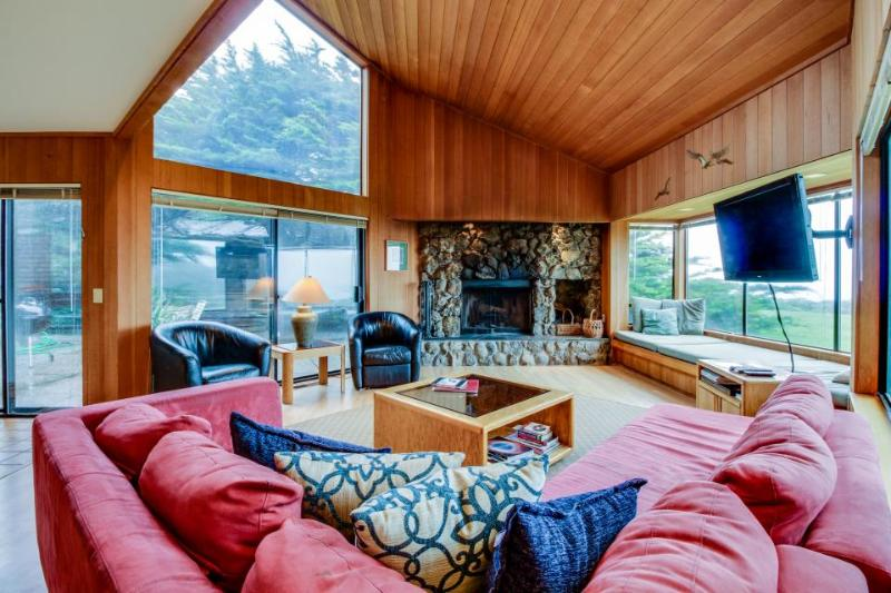 Cabin w/ocean views, hot tub & resort amenities, dogs OK! - Image 1 - Sea Ranch - rentals