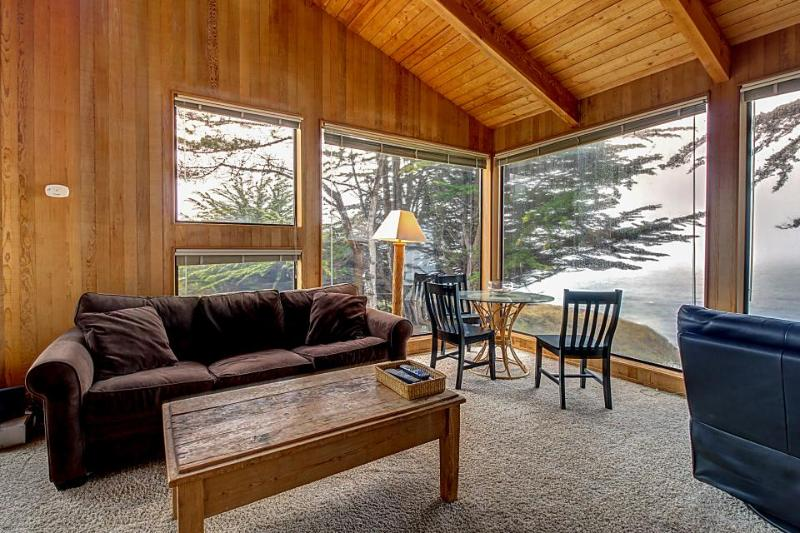 Dog-friendly oceanfront home w/ gorgeous views, a private hot tub & shared pool! - Image 1 - Sea Ranch - rentals