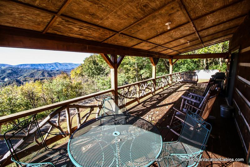 Silverleaf - Guest Favorite Private Log Cabin*HUGE VIEW*HotTub - Zionville - rentals