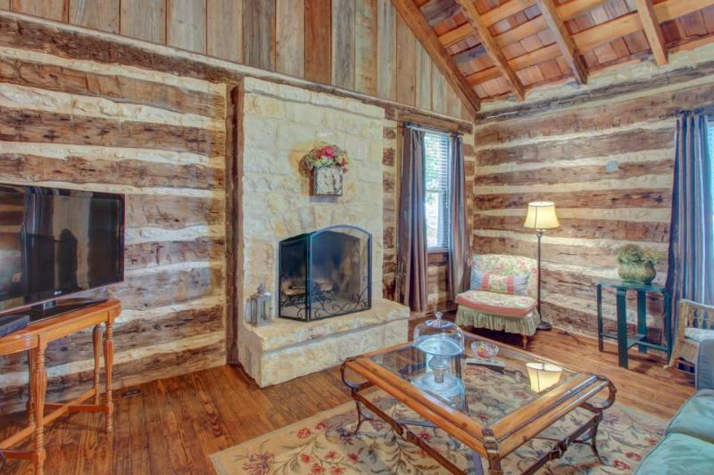 Dog-friendly cabin with a fireplace & tasting rooms on-site! - Image 1 - Fredericksburg - rentals