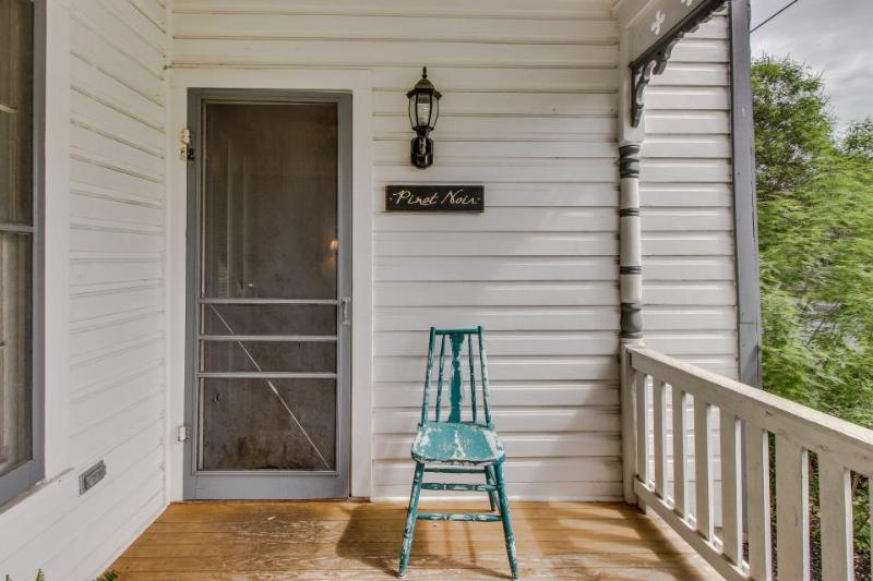 Historic home w/ a fireplace, front porch, & more. Walk everywhere! - Image 1 - Fredericksburg - rentals
