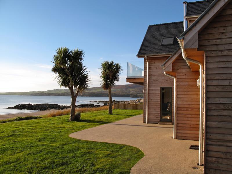 Fabulous beach front location - Airds Bay Luxury Beach House - Gatehouse of Fleet - rentals