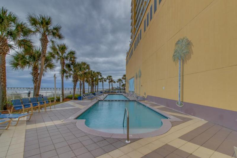 Oceanfront condo w/beach access, shared pool, & fitness center - amazing views! - Image 1 - Panama City Beach - rentals