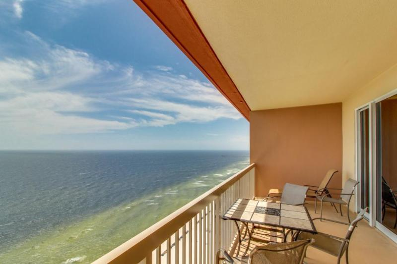 Oceanfront penthouse condo w/Gulf views, pools, hot tub, & more! - Image 1 - Panama City Beach - rentals