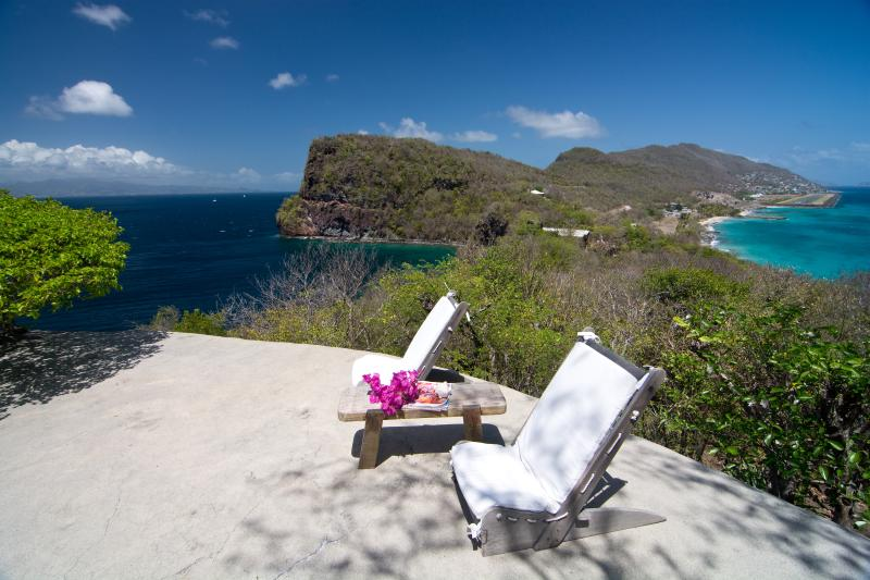 Panorama of the island - Moonrise at Moonhole on Bequia - Saint Vincent - rentals