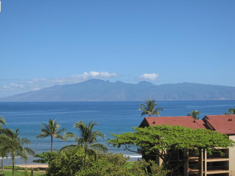 View from our Lanai - Beautiful Ocean View Condo - Lahaina - rentals
