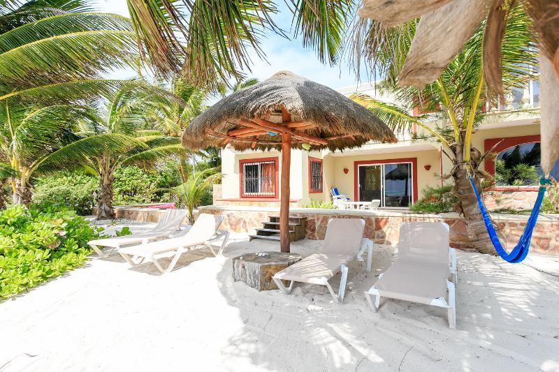 Beach - Casa Caracol Large Beachfront Villa, WiFi - Tulum - rentals