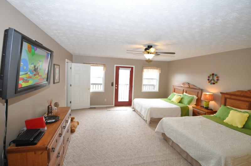 Flat screen tv with Wii and Rock Band + games - sold - Gatlinburg - rentals