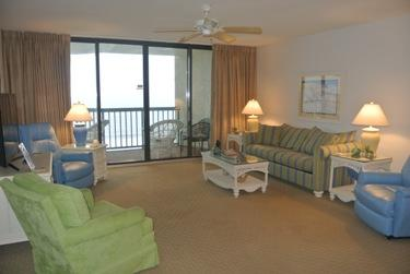 living room - SUPER SUMMER DEALS 3 BEDROOM OCEAN BAY 908 - North Myrtle Beach - rentals
