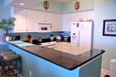 kitchen - OCEANFRONT LUXURY 3 BDM  - CRESCENT KEYES PH 16 - North Myrtle Beach - rentals