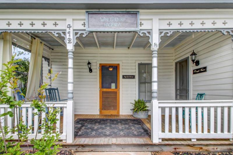 Historic home w/ a cute front & back porch, a cozy fireplace, & more! - Image 1 - Fredericksburg - rentals