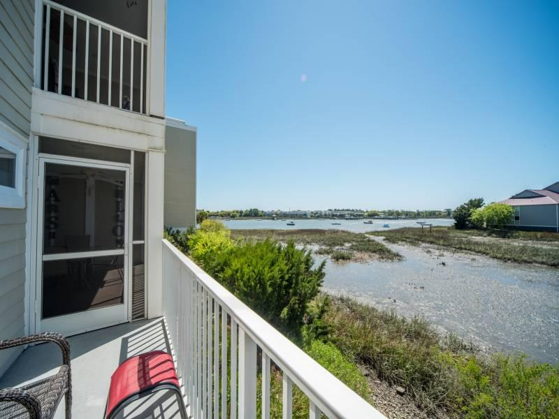 Beautiful River Views from your Deck!! - Turn of the River 1G@ - Folly Beach, SC - 3 Beds BATHS: 3 Full - Folly Beach - rentals