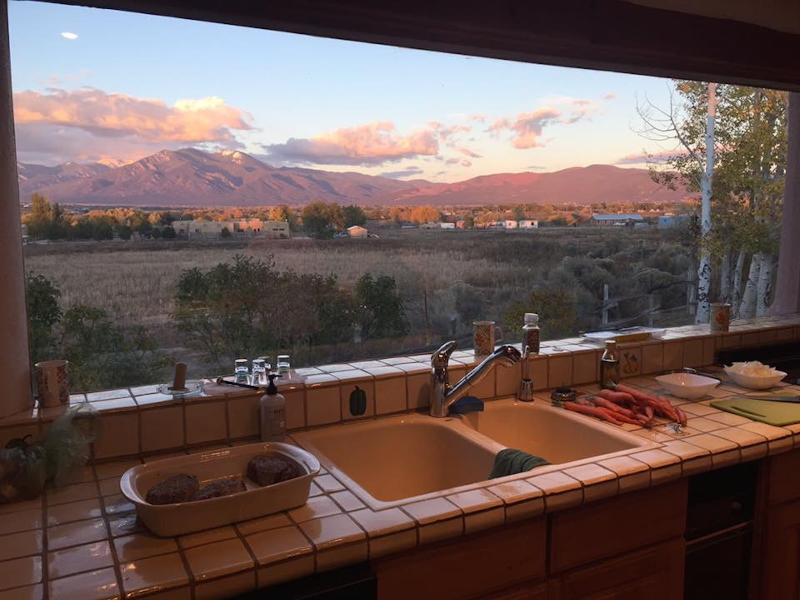 Views from Kitchen Window - Dos Tusas-Grand and Gorgeous Taos!! - Taos - rentals
