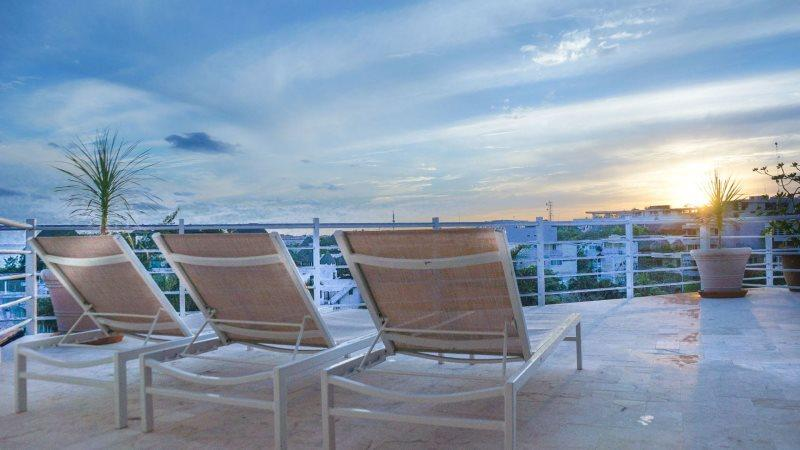 Magia 2900 S.F. Ocean View Luxury Penthouse (Available as 2 or 3 Br) - Image 1 - Playa del Carmen - rentals