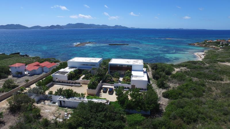 Anguilla Villas with a view at Beaches Edge Anguilla. Rent 1 or both! Weddings, families, groups! - WEDDINGS, FAMILIES Enjoy 2 Full Oceanfront Villas! - Blowing Point - rentals