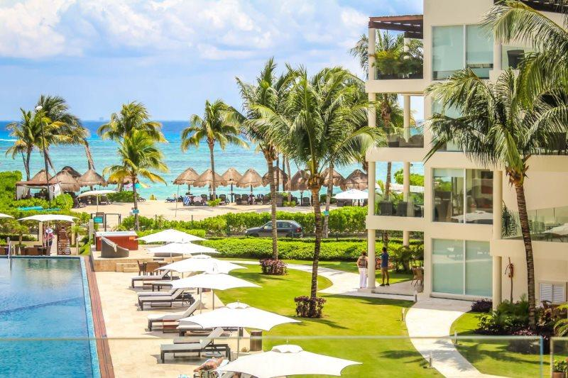 Terrific Ocean Views and Extra Room for the kids - Image 1 - Riviera Maya - rentals