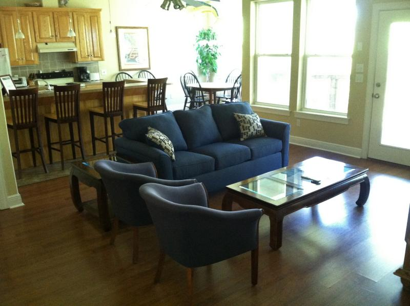 Living Area - The Wahoo, Vacation Home, Secluded and Quiet - Saint George Island - rentals