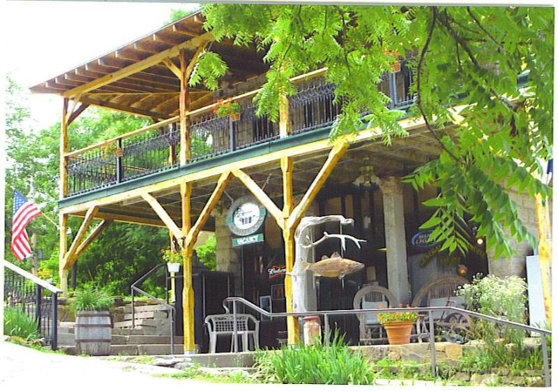 New Listing!  Beaver Town Lodge, On The Water, Swim, Boat, Fish, View of Beaver Bridge - Image 1 - Eureka Springs - rentals