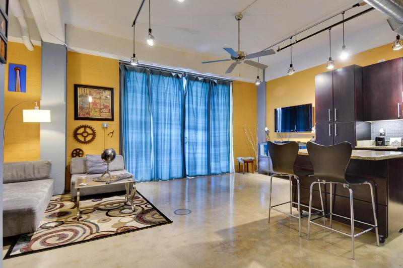 Open space with living/dining/cooking - Downtown Loft, Sweet City LIving - San Antonio - rentals