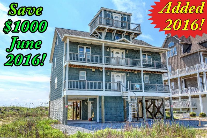 Save $1000 on open weeks in June 2016! - Hampton Colony 604 | First year rental | Pool Access | Direct Oceanfront. Discounts Available- See Description - North Topsail Beach - rentals