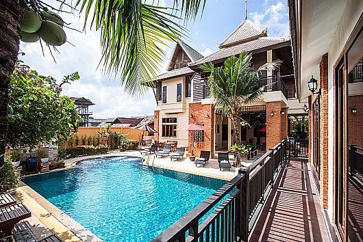 Stylish 5 bed 2km to Jomtien Beach - Image 1 - Pattaya - rentals