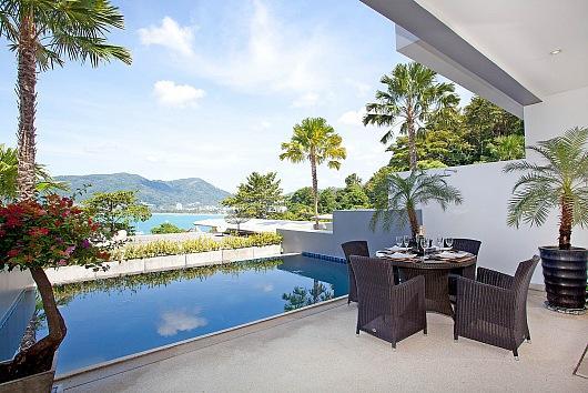 3 bed Patong villa with sea views - Image 1 - Kathu - rentals