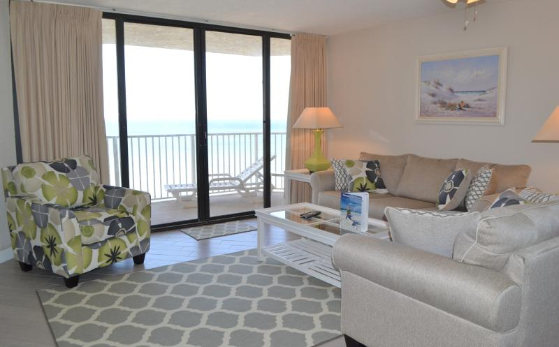 Dunes of Panama Gulf Front 2 Bedroom large unit E1103 Sleeps 8 - Dunes of Panama 2 bedroomLg Gulf Front Condo E1103 - Panama City Beach - rentals