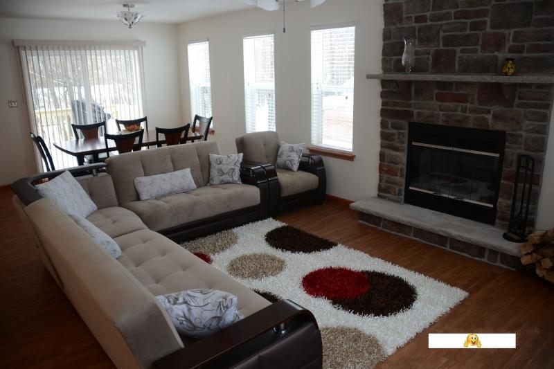 Living Room - NEW 3Br. House - Big Boulder, Jack Frost, Camelback, Blue Mountain Ski & More! - Albrightsville - rentals