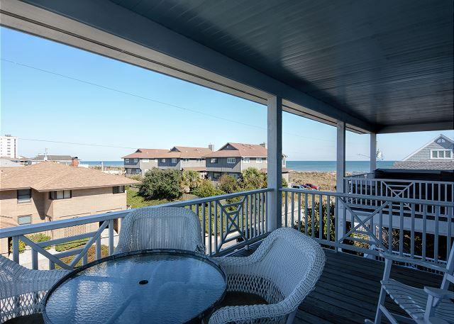Knot for Sail -  Enjoy a relaxing vacation at this quiet ocean view duplex - Image 1 - Wrightsville Beach - rentals