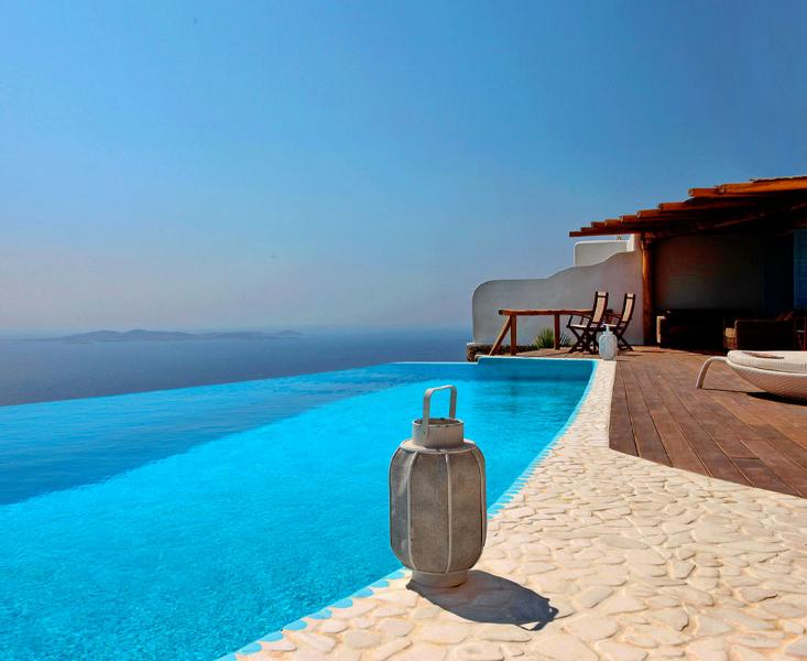 Mykonos - Gv - The Royal Villa with  helipad & infinity pool  & stunning sunsets and seavie - Image 1 - Mykonos - rentals